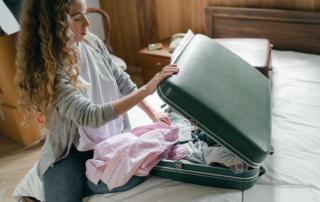 Koffer packen Kurzurlaub