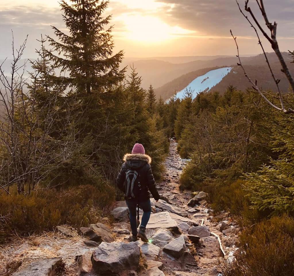 Mummelsee Winterlandschaft